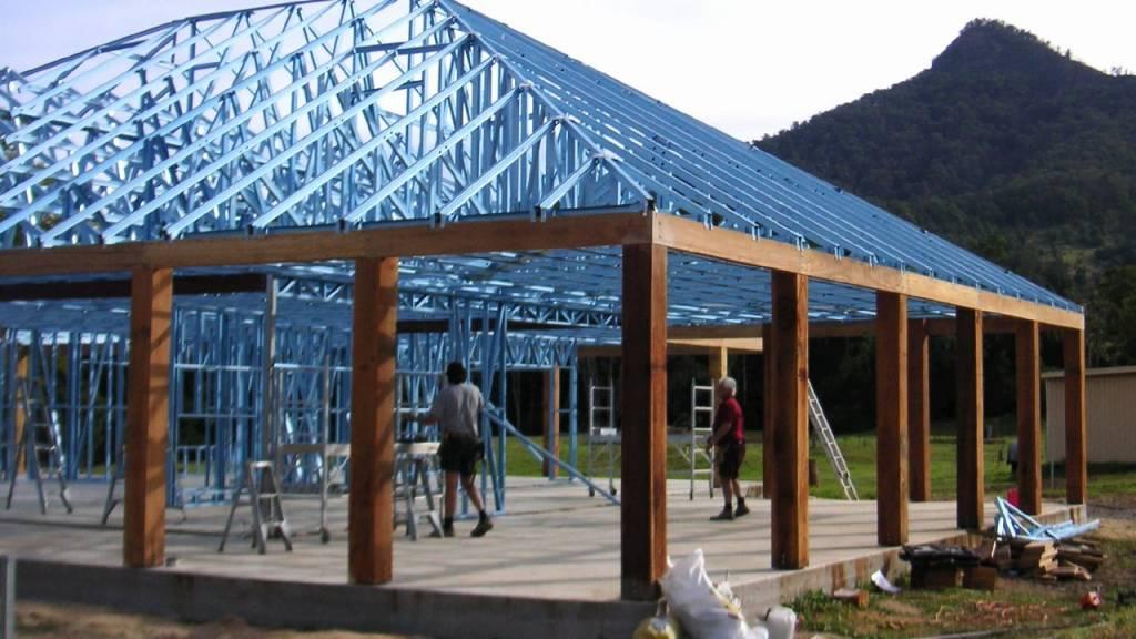 Steel House Framing Amp Trusses Ultimate Steel Framing Pty Ltd